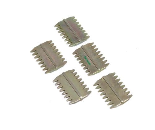 """Barnwell 1.5"""" Scutch Chisel Combs Pack of 5"""